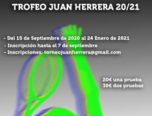 VI Edición del Trofeo Juan Herrera