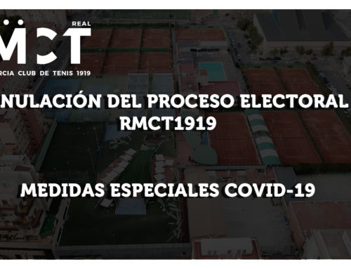 Anulación Proceso Electoral RMCT1919