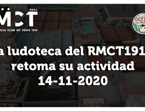 La Ludoteca del RMCT1919 retoma su actividad este sábado 14 de noviembre