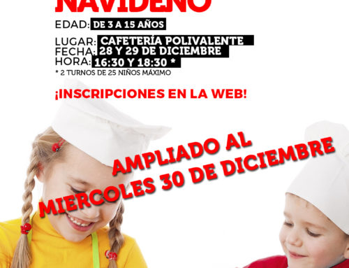 Taller «MINI CHEF NAVIDEÑO» – Diciembre 2020 (AMPLIADO)