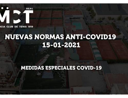 Nuevas Normas Anti-Covid19 (15-01-2021)