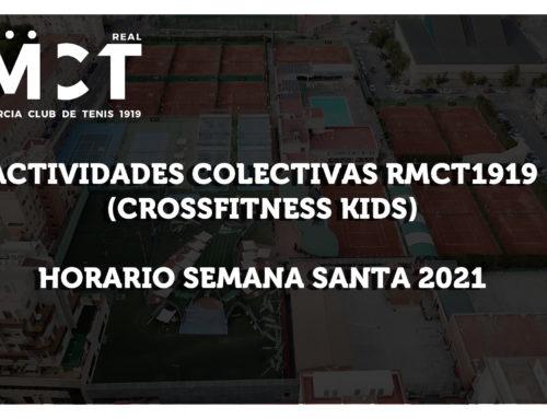Crossfitness Kids — Horario Semana Santa 2021