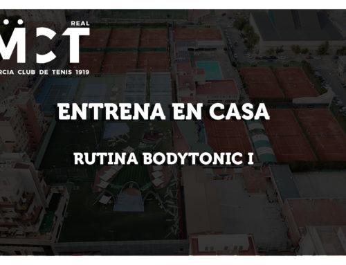 Rutina Bodytonic I — Entrena en Casa