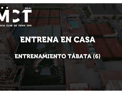 Entrenamiento TÁBATA (6) – Entrena en Casa