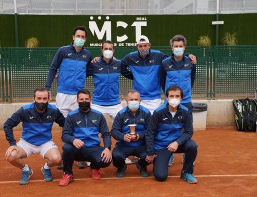 El Real Murcia Club de Tenis 1919, campeón de España por Equipos +35 por tercera vez en su historia