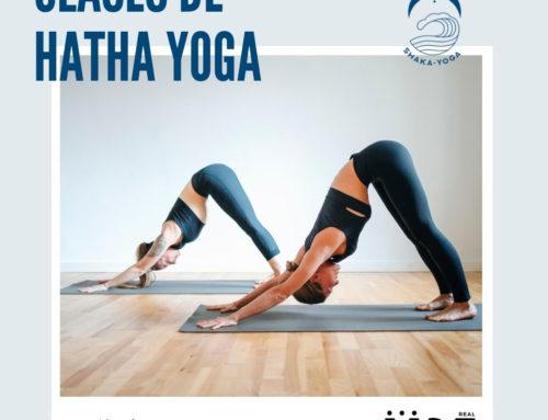 Apúntate a Hatha Yoga: lunes y miércoles de 20:15 a 21:15 horas.