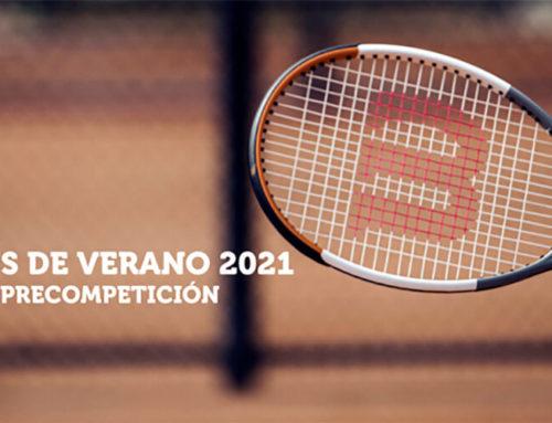 Escuela de Tenis de Verano RMCT1919. Cursos de competición y Pre-competición 2021