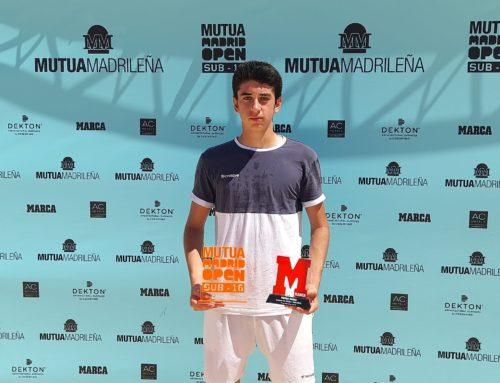 Pablo Martínez, campeón de la primera prueba del Mutua Madrid Open Sub-16 2021/202