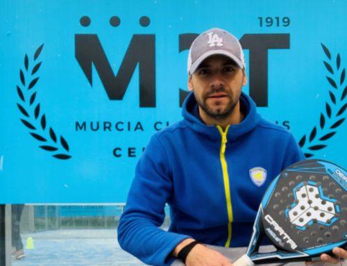 Noel Rico, nuevo director de la Escuela de Pádel del Real Murcia Club de Tenis 1919