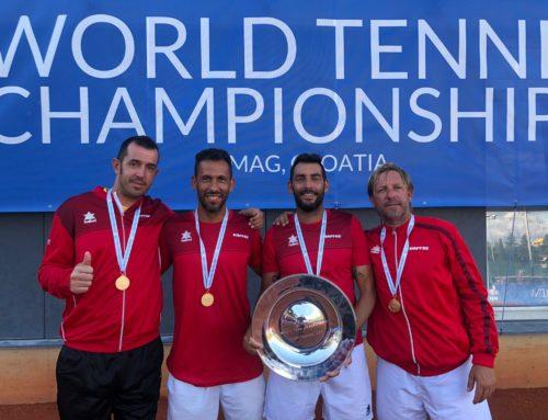La Selección Española +40, con Antonio Alcaraz, consigue la Triple Corona Mundial de Tenis