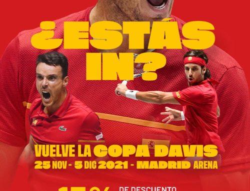 Vuelve la Copa Davis 25 Nov – 5 Dic – Madrid Arena