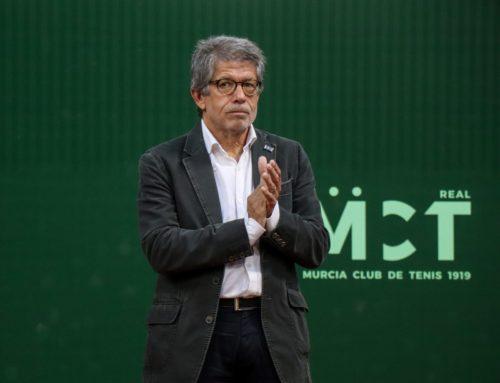 """Antonio Saura: """"La Región merece este torneo de tenis tan importante y con sello propio"""""""