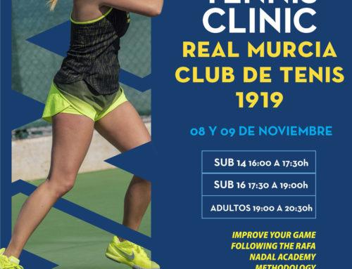 Técnicos de la 'Rafa Nadal Academy by Movistar' imparten un curso intensivo de tenis en el RMCT1919