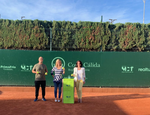 Donación Pelotas de Tenis al CEIP Cierva Peñafiel